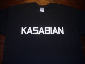MENS `KASABIAN` T-SHIRT